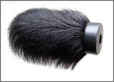 Faserlänge: 8cm, schwarz [Beispielfoto]